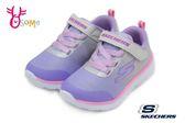 SKECHERS GO RUN 400 運動鞋 女童 中大童 輕量慢跑鞋 Q8235#灰紫◆OSOME奧森童鞋