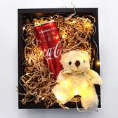 幸福婚禮小物❤單瓶熊熊可樂禮盒❤創意驚喜/可口可樂/客製化/生日禮物/特別的禮物