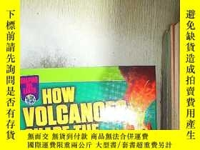 二手書博民逛書店SHAPING罕見OUR EARTH HOW VOLCANOES SHAPE THE EARTH 火山如何塑造地球