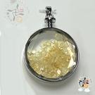 圓滿黃晶能量寶瓶 4*1.2*5.2公分【十方佛教文物】