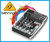 【小麥老師 樂器館】Behringer 耳朵牌 XENYX QX1002 USB MIXER 10軌 錄音介面 混音器【T170】