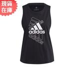 【現貨】Adidas ESSENTIALS 女裝 背心 訓練 健身 寬鬆 純棉 黑【運動世界】GL1399