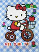 【震撼精品百貨】Hello Kitty 凱蒂貓~透明貼紙-腳踏車