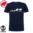 【MAMMUT 瑞士 男 QD Logo Print AF PRT3短袖T恤《海洋藍》】1017-02011/休閒短袖/短T