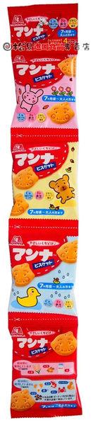 《松貝》森永幼兒造型餅4連52g【4902888200038】bf19