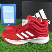 【iSport愛運動】adidas PRO SPARK 2018 籃球鞋 正品 AP9911 女款/大童 紅