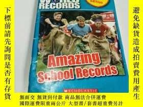 二手書博民逛書店AMAZING罕見SCHOOL RECORDS(英文, 不好Y2