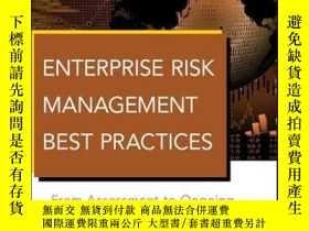 二手書博民逛書店Enterprise罕見Risk Management Best Practices: From Assessme