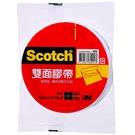 3M Scotch 雙面膠帶 18mmX15yd 單入袋裝