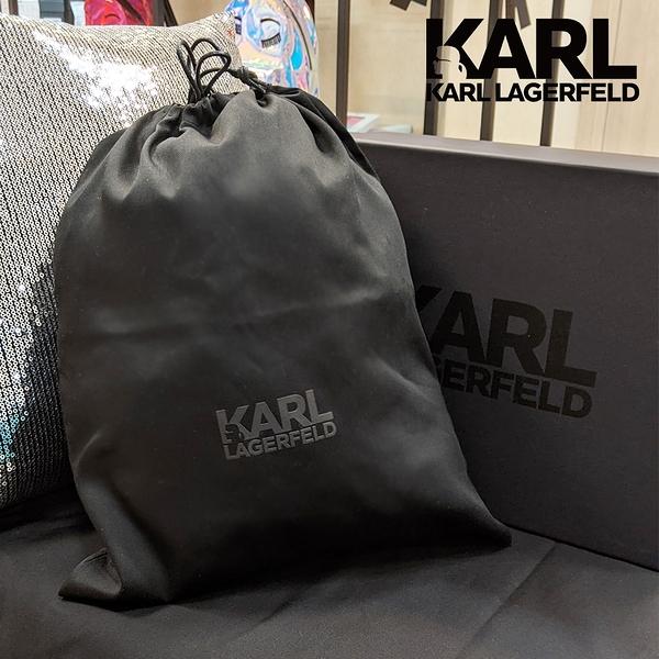 【KARL LAGERFELD 卡爾】質感原廠防塵袋(雙11限定/鞋子圍巾包包各種收納適用)