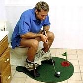 廁所高爾夫 馬桶高爾夫球 迷你高爾夫套裝休閒玩具 【韓語空間】