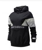 New Balance 女款棒球系列色塊拼接半開襟上衣-NO.AWJ93515BK