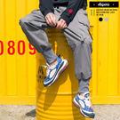 工作褲 美式工裝側邊大口袋羅紋縮口褲【SW0680】休閒褲 哈倫褲 寬褲
