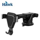 Hawk G6 吸盤式重力感應手機架 黑