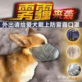 德聰寵物防霧霾口罩狗用狗狗嘴套防咬防叫泰迪柯基防亂吃PM2.5 可可鞋櫃
