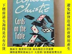 二手書博民逛書店Cards罕見on the Table(原版英文) Y6886