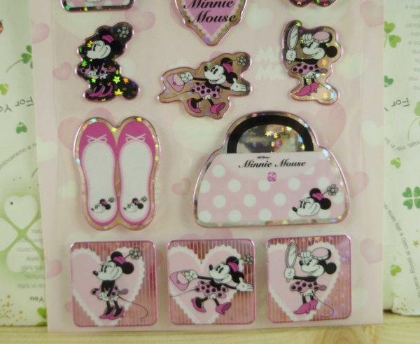 【震撼精品百貨】Micky Mouse_米奇/米妮 ~貼紙-淑女