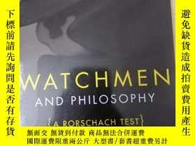 二手書博民逛書店羅夏測試罕見watchmen and philosophy 英文 原版書籍Y458729 羅夏