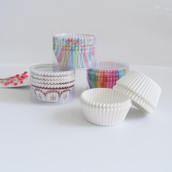 【400個】烘焙模具蛋糕紙杯紙托紙托包裝蛋糕紙墊【步行者戶外生活館】