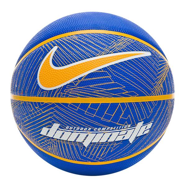 Nike Dominate 8P [N000116543707] 籃球 7號 耐磨 控球佳 室內 戶外 藍黃