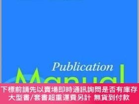 二手書博民逛書店Publication罕見Manual of the American Psychological Associa