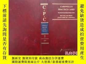 二手書博民逛書店Carswell s罕見Practice Cases 2 199
