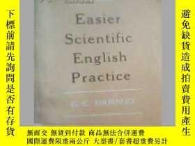 二手書博民逛書店Easier罕見Scientific English Pract