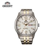 ORIENT 東方錶 OLD SCHOOL系列 三星復古風機械錶 鋼帶款 - 43.0 mm SAB0B005W