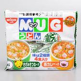 【日清】MUG馬克杯麵 (烏龍+咖哩) (4食入)(賞味期限:2019.06.10)