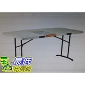 [COSCO代購]  W116664 Lifetime 工業級6呎折疊桌12入