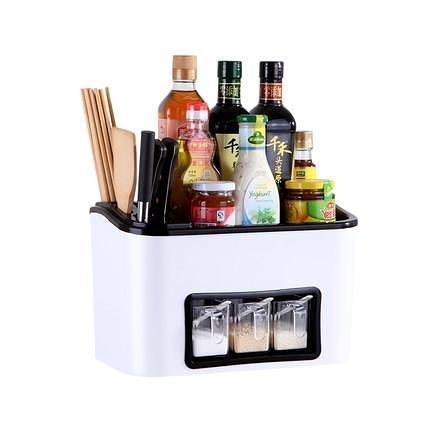 調料盒 家用廚房用品收納盒調味罐調味品鹽罐調料瓶罐子置物架套裝