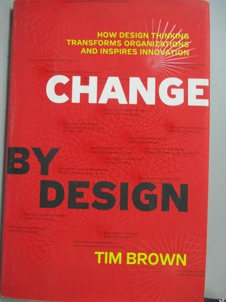 【書寶二手書T1/財經企管_XBM】Change by Design: How Design Thinking…