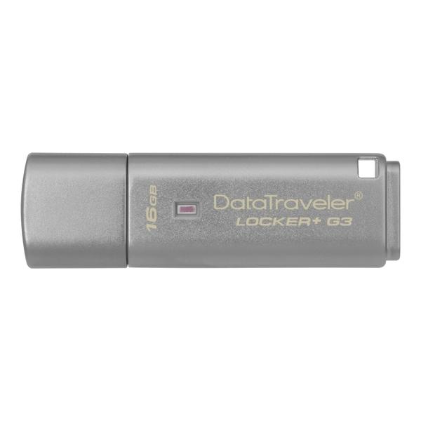 金士頓 KINGSTON DTLPG3 Locker+ 16G鐵灰色 ( DTLPG3/16GB )