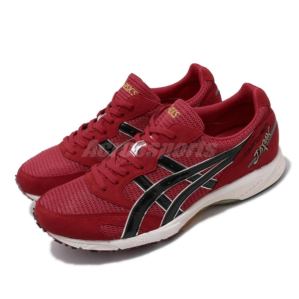 【六折特賣】 Asics 競速跑鞋 Tarther Japan 日本製 紅 黑 虎走 馬拉松 男鞋 【ACS】 TJR0762390