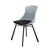 組 - 特力屋萊特 塑鋼椅 金屬腳架/灰椅背/黑座墊