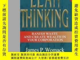 二手書博民逛書店Lean罕見ThinkingY255562 James P. Womack Productivity Pres