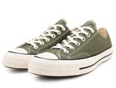 CONVERSE 中性款低筒運動休閒帆布鞋 綠 -NO.162060C