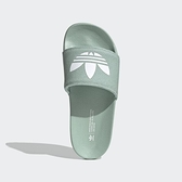 Adidas Adilette Lite W [FX5927] 女鞋 運動休閒 柔軟 簡約 涼鞋 拖鞋 海灘 夏天 粉綠