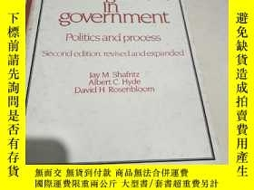 二手書博民逛書店Personnel罕見management in governm