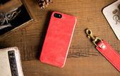 alto iPhone 5/5S/SE 真皮手機殼背蓋 Original - 珊瑚紅 【可客製雷雕文字,需加購】