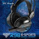 PC Park R98(黑)電競耳機麥克風