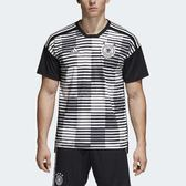 adidas 球衣 Germany Pre-Match Jersey 男款 德國國家隊 賽前熱身 短袖 上衣 【PUMP306】 CE6632