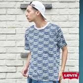 Levis 男款 短袖T恤 / 翻玩夏日Logo T / 滿版撞色Logo