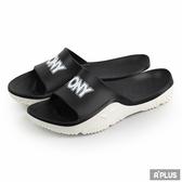 PONY 男女 黑白 拖鞋 - 92U1FL07BK