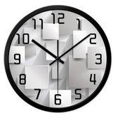 創意時鐘-美式3D個性簡約藝術壁鐘3色72z4【時尚巴黎】