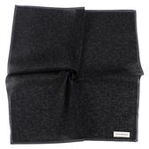 Calvin Klein CK滿版字母男士手帕/帕巾(黑色)989091-271