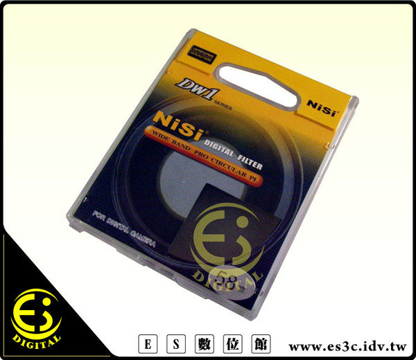 ES數位館 NiSI  專業級 超薄UV保護鏡62mm配合超薄NiSi CPL偏光鏡 減少暗角