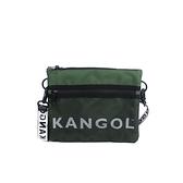 KANGOL 側背包 墨綠色 6125170370 noC78