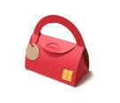 {彩烙盒}紅色 燙喜字 小彩包(50入/組) 婚禮小物 聖誕節 飾品 手工餅乾 包裝盒 手提盒