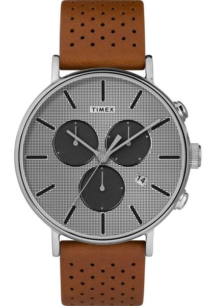 【分期0利率】TIMEX 天美時 三眼錶 銀灰色 41mm 全新原廠公司貨 TXTW2R79900